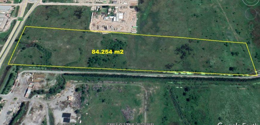 84200 m2 INDUSTRIALES S/ RUTA 6 (entre Campana y Zarate)